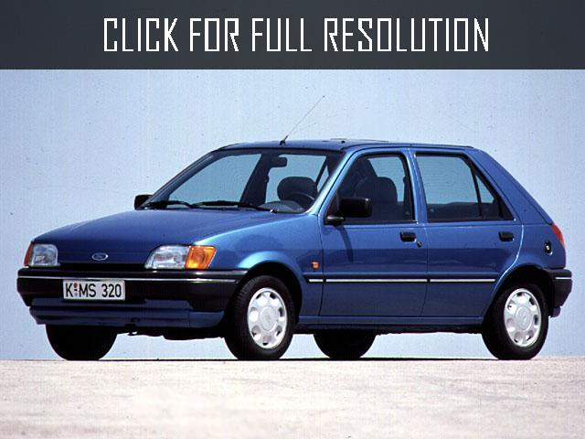 Ford Fiesta 1.4 1990 photo - 1