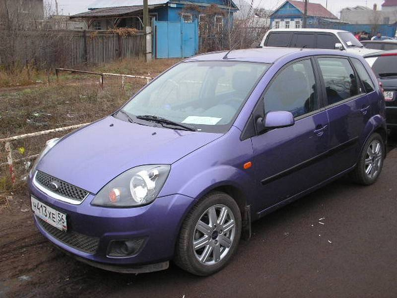 Ford Fiesta 1.4 2006 photo - 12