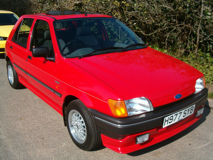 Ford Fiesta 1.4i 1990 photo - 5