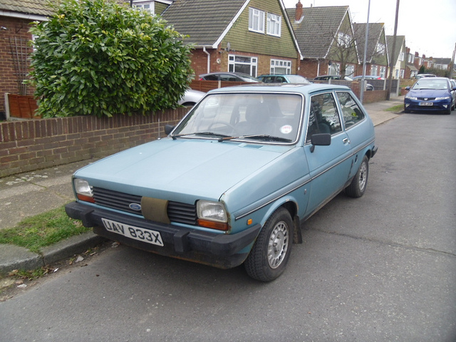 Ford Fiesta 1.6 1982 photo - 2