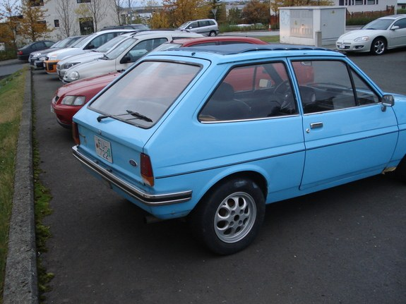 Ford Fiesta 1.6 1982 photo - 4