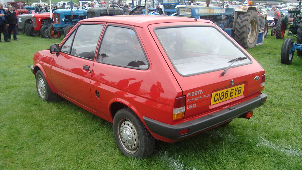 Ford Fiesta 1.6 1985 photo - 1