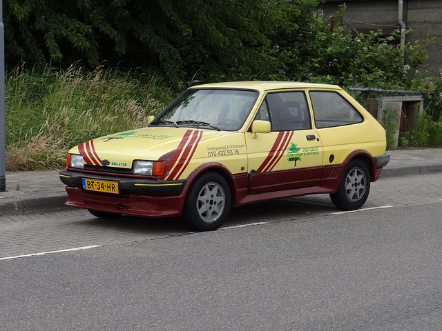 Ford Fiesta 1.6 1986 photo - 2