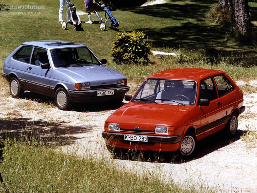 Ford Fiesta 1.6 1986 photo - 3