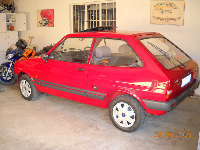 Ford Fiesta 1.6 1986 photo - 5