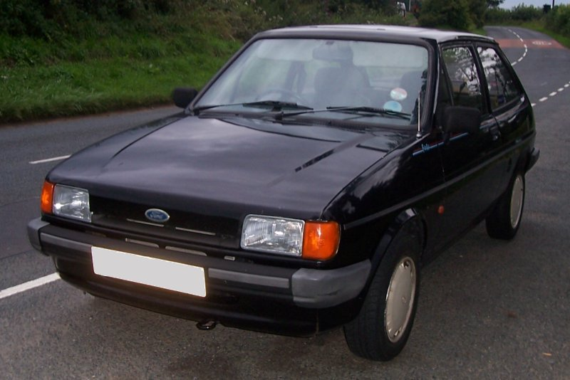 Ford Fiesta 1.6 1986 photo - 8