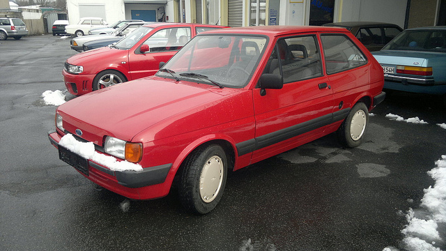 Ford Fiesta 1.6 1987 photo - 7