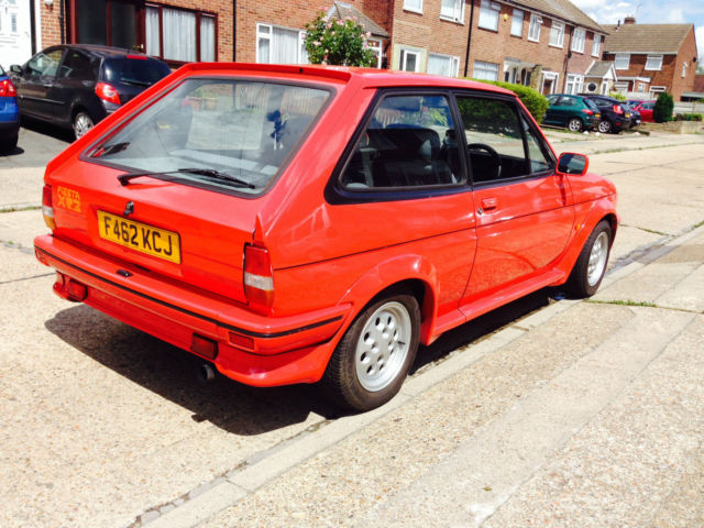Ford Fiesta 1.6 1988 photo - 4