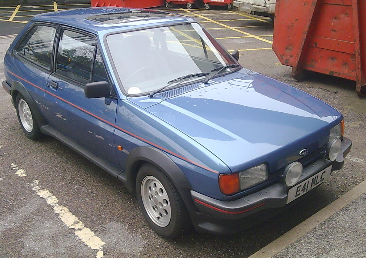 Ford Fiesta 1.6 1988 photo - 6