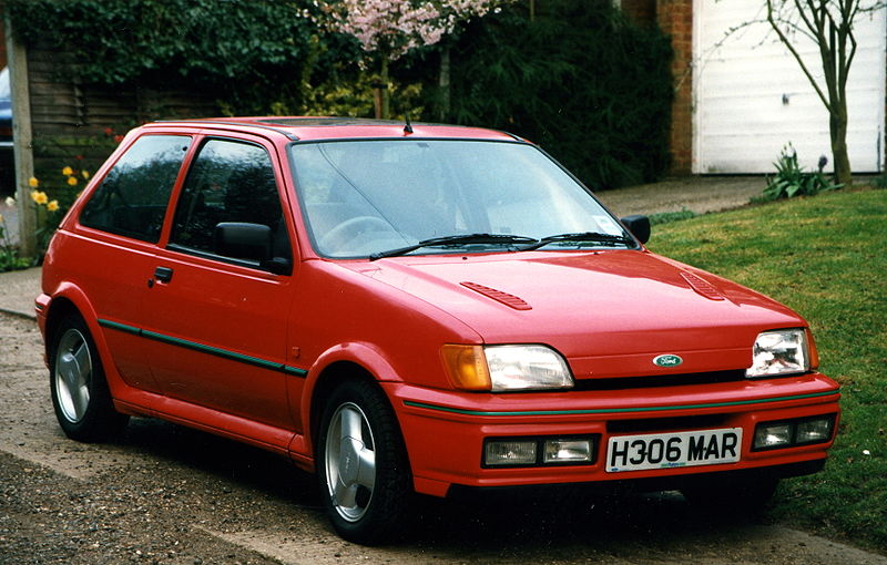 Ford Fiesta 1.8 1991 photo - 1