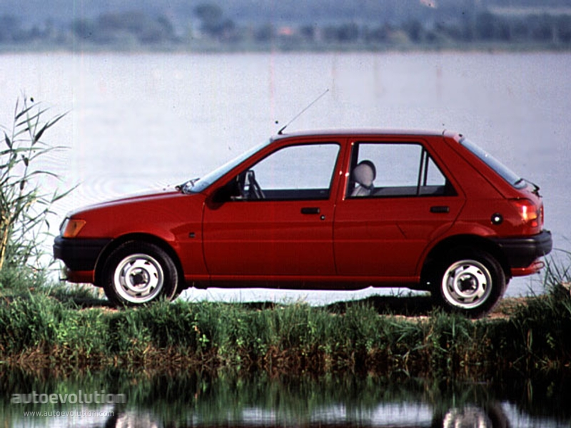 Ford Fiesta 1.8 1991 photo - 12