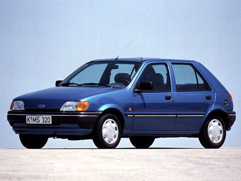 Ford Fiesta 1.8 1991 photo - 4