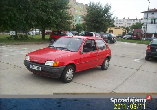 Ford Fiesta 1.8 1991 photo - 8