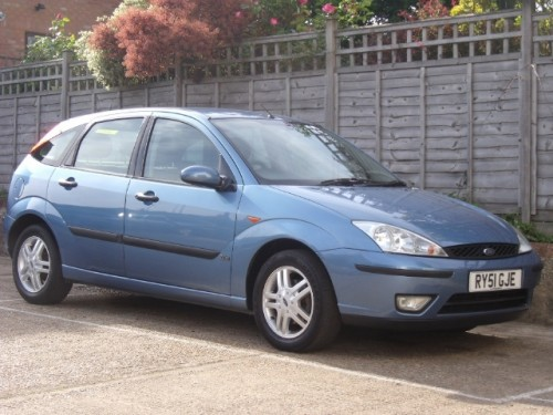 Ford Focus 1.6 2002 photo - 4