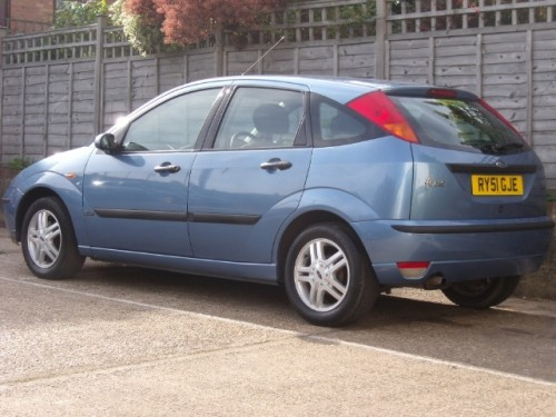 Ford Focus 1.6 2002 photo - 5