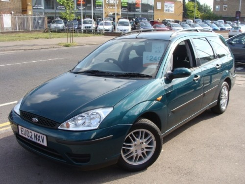 Ford Focus 1.6 2002 photo - 7