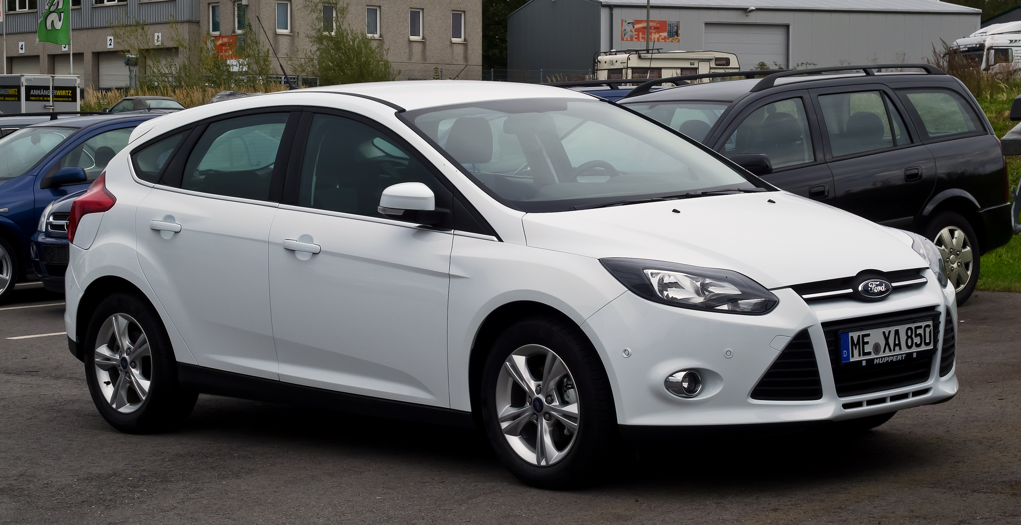Ford Focus 1.6 2012 photo - 2