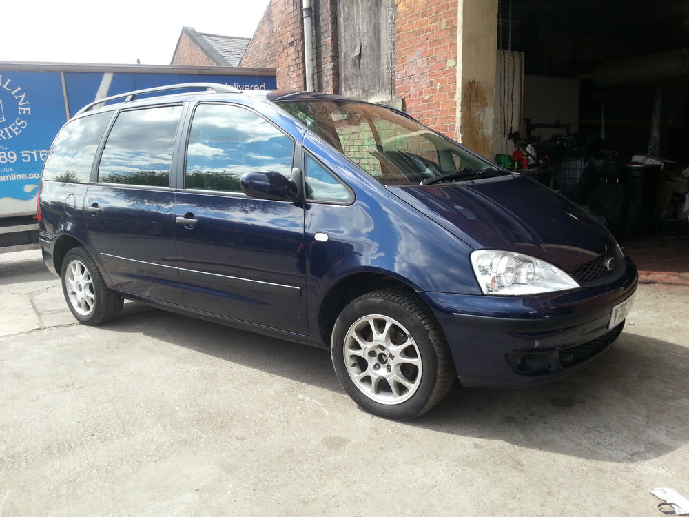 Ford Galaxy 1.9 2000 photo - 2