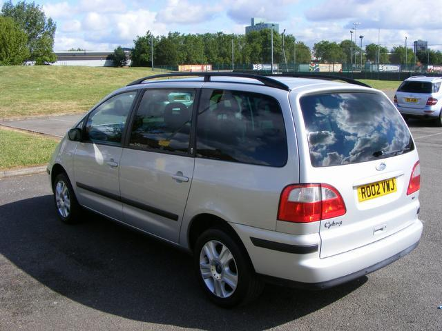Ford Galaxy 1.9 2002 photo - 4