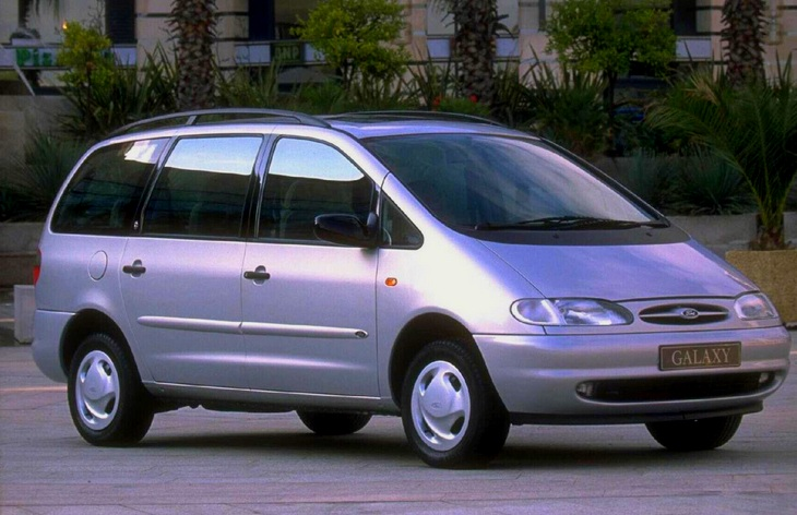 Ford Galaxy 2.0 1995 photo - 2