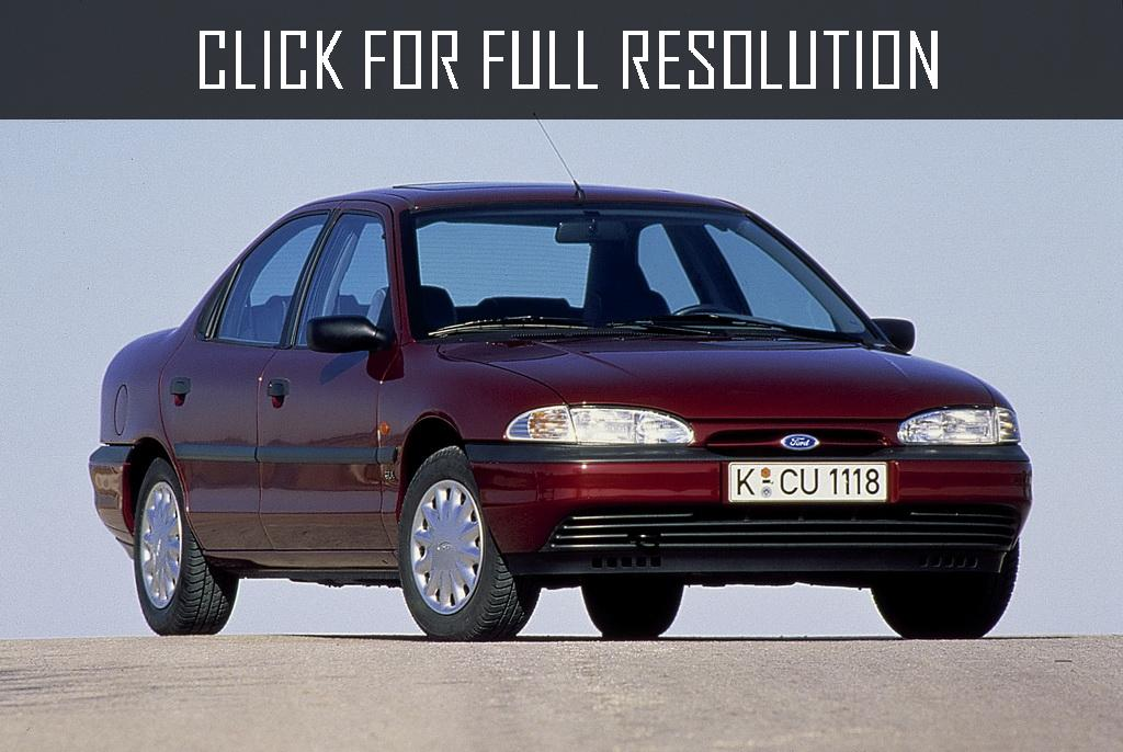 Ford Mondeo 1.6 1993 photo - 9