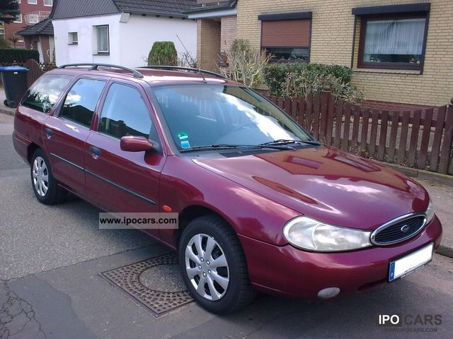 Ford Mondeo 1.6 2000 photo - 2