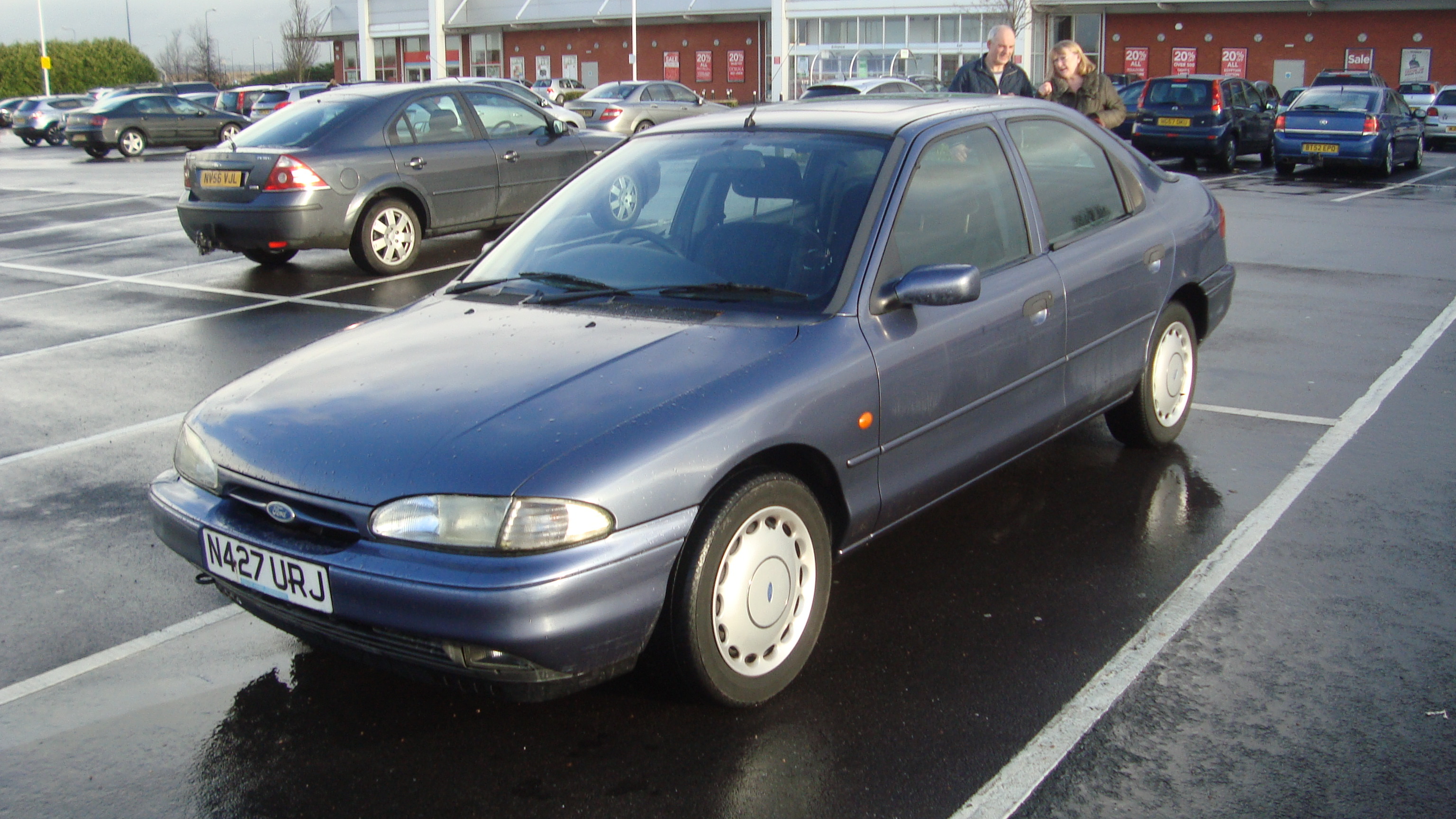 Ford Mondeo 1.8 1995 photo - 4