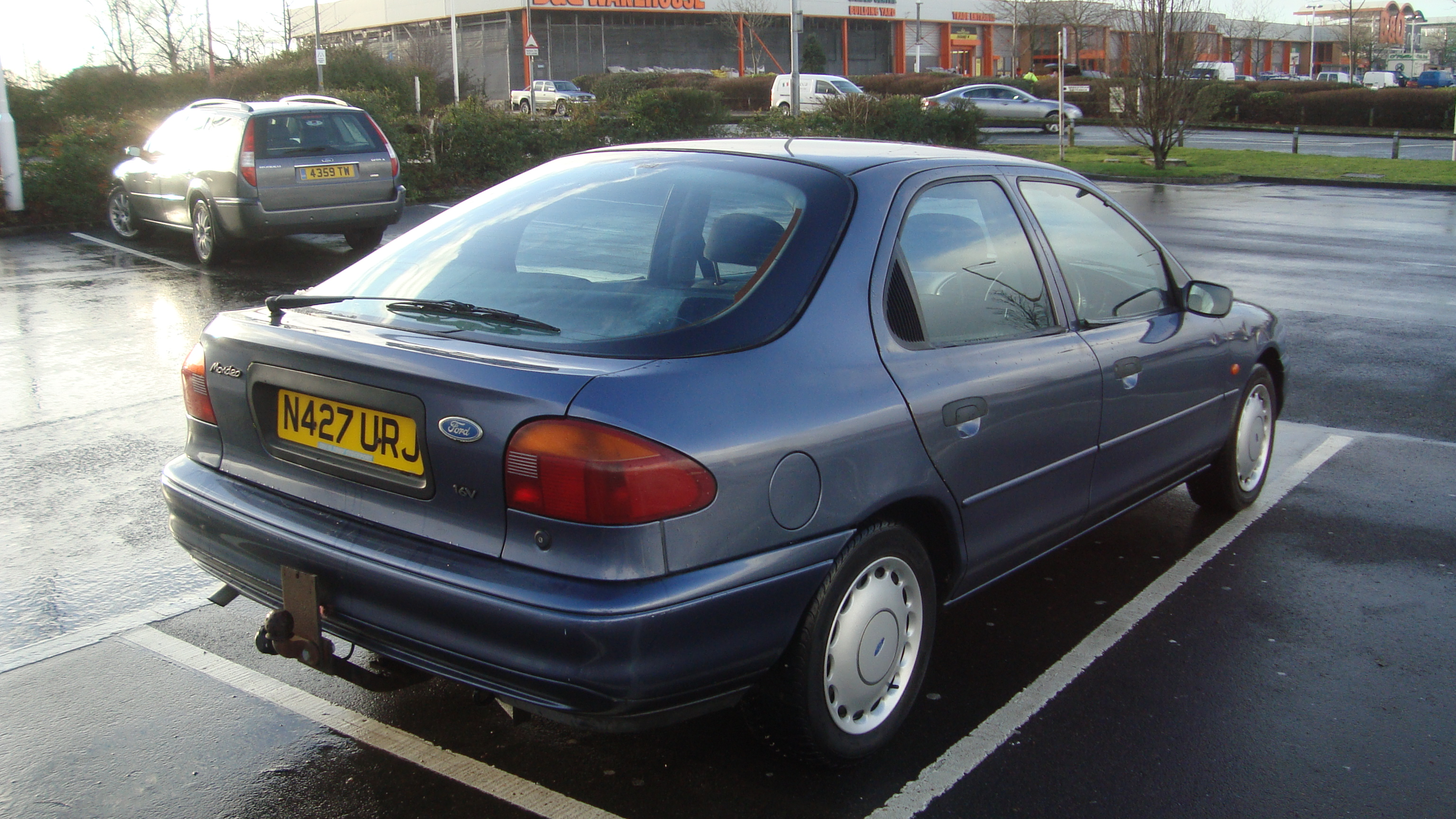 Ford Mondeo 1.8 1995 photo - 8