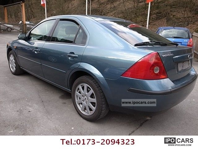 Ford Mondeo 1.8 2002 photo - 11