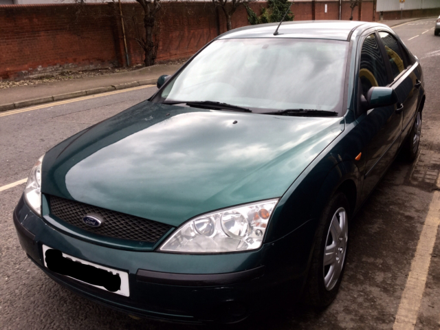 Ford Mondeo 2.0 2002 photo - 2