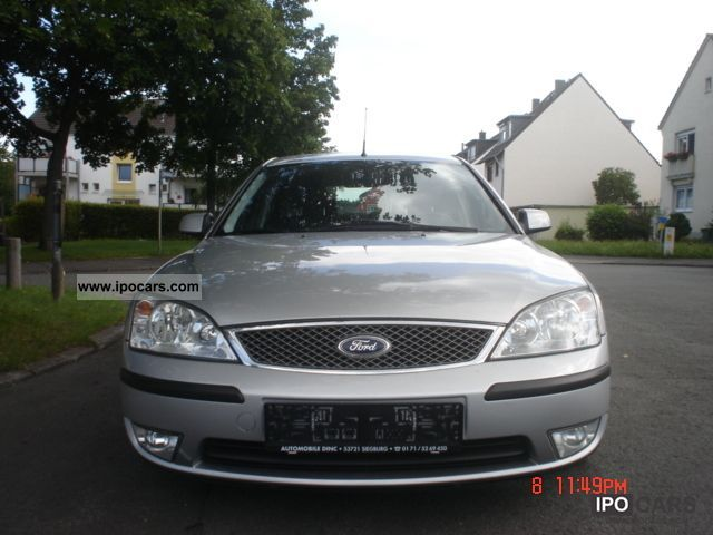 Ford Mondeo 2.0 2003 photo - 7