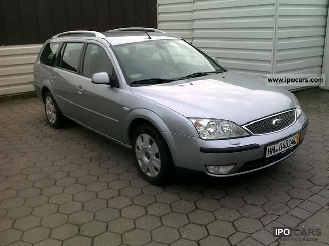 Ford Mondeo 2.0 2004 photo - 2