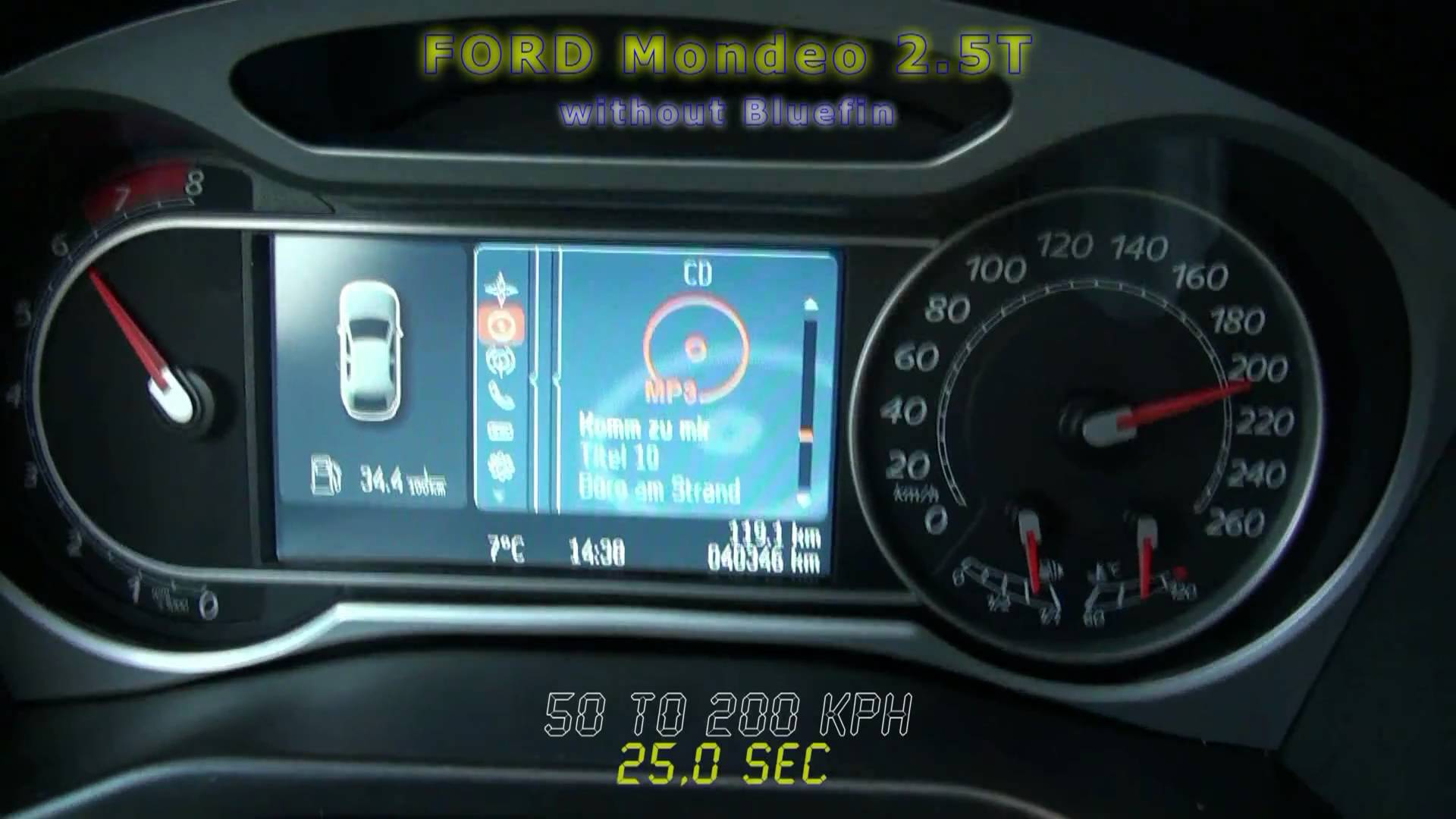 Ford Mondeo 2.5T 2010 photo - 12