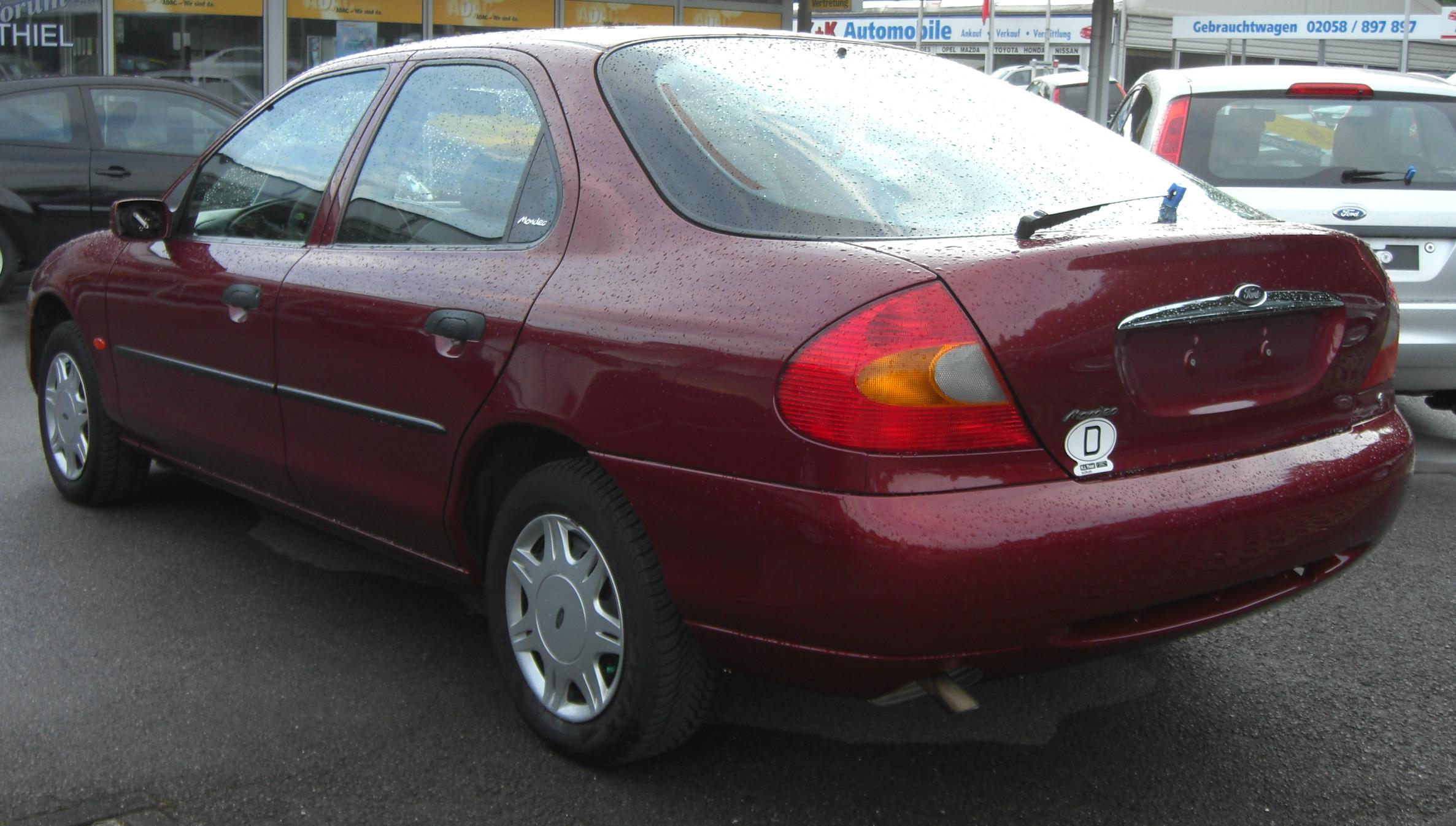 Ford Mondeo 3.0 2000 photo - 7
