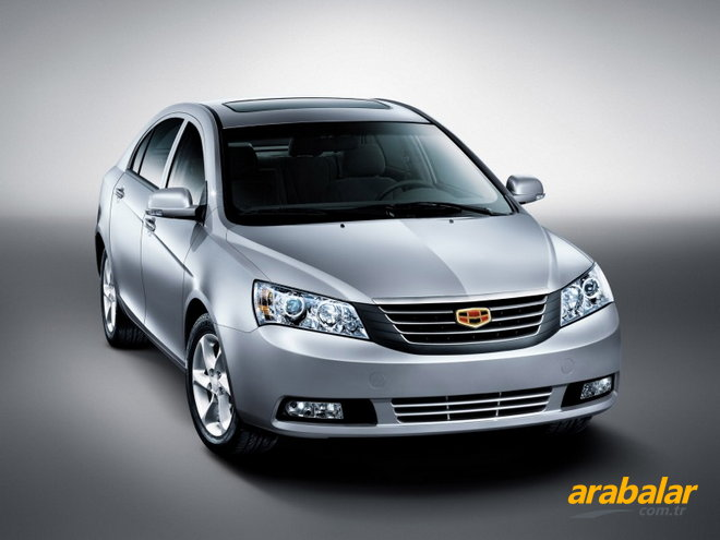Geely Emgrand 1.5 2010 photo - 4