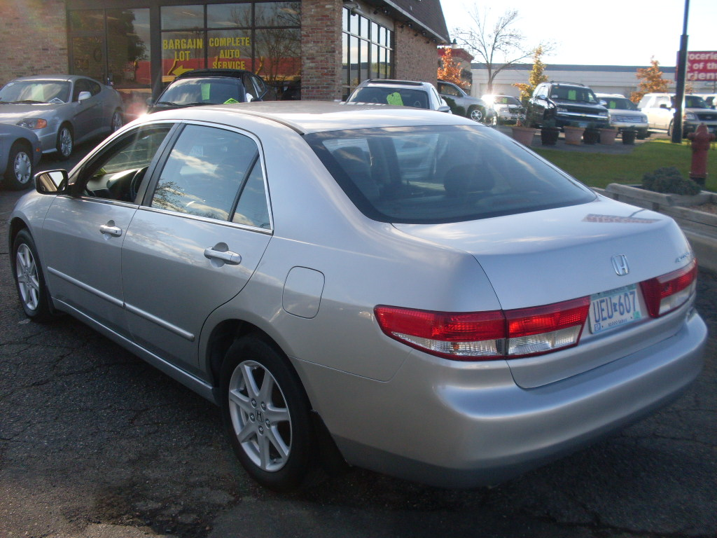Honda Accord 3 0 2003 Technical Specifications Interior