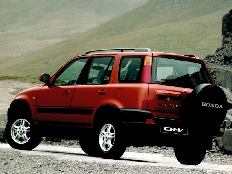 Honda CR-V 2.0 2001 photo - 11
