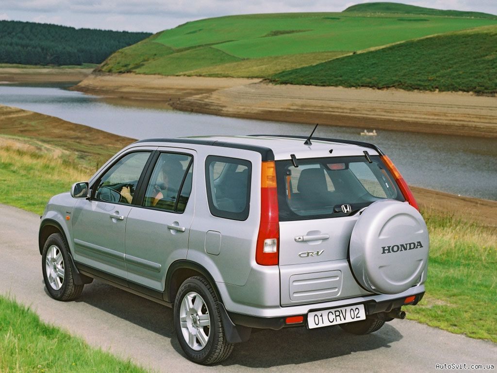 Honda CR-V 2.0 2002 photo - 10