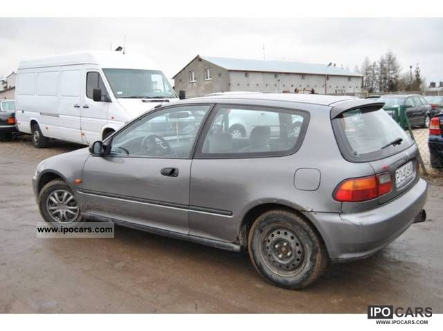 Honda Civic 1.3 1992 photo - 3