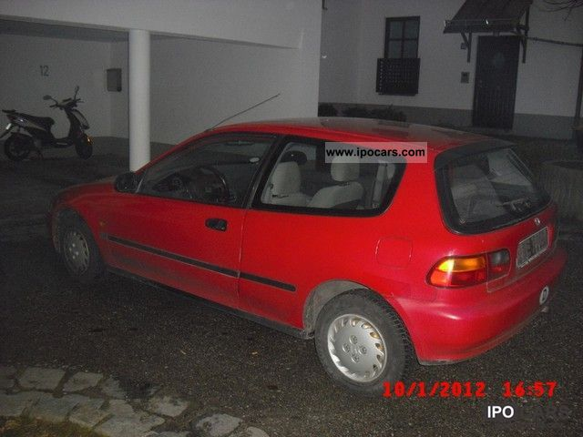 Honda Civic 1.3 1992 photo - 4