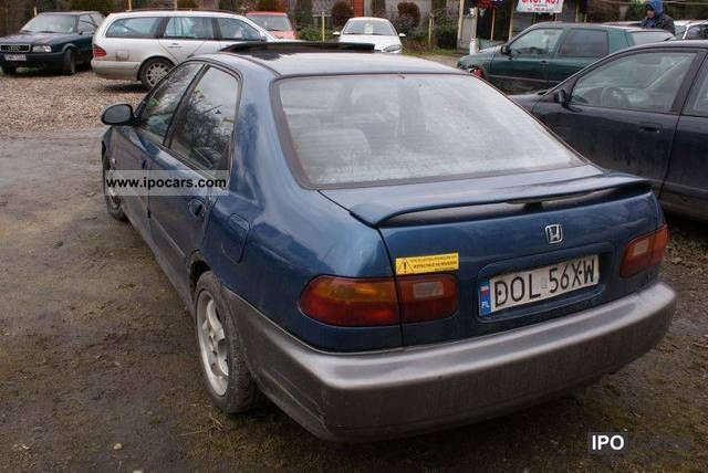 Honda Civic 1.3 1992 photo - 7