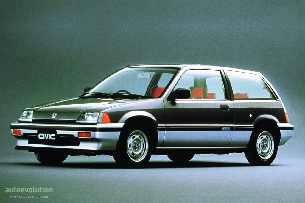 Honda Civic 1.4 1983 photo - 3