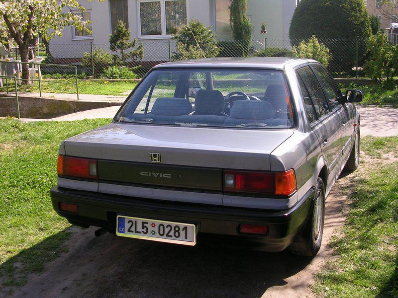 Honda Civic 1.4 1988 photo - 11