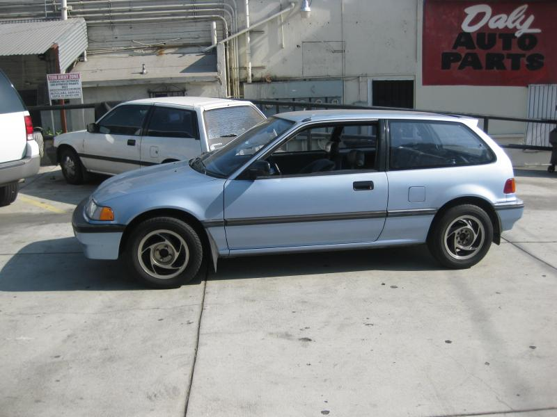 Honda Civic 1.4 1989 photo - 8
