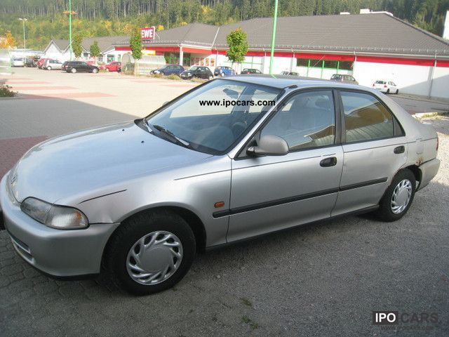 Honda Civic 1.5 1992 photo - 4