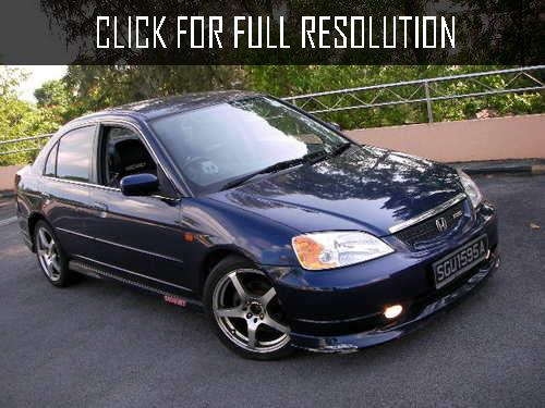 Honda Civic 1.5 2002 photo - 5