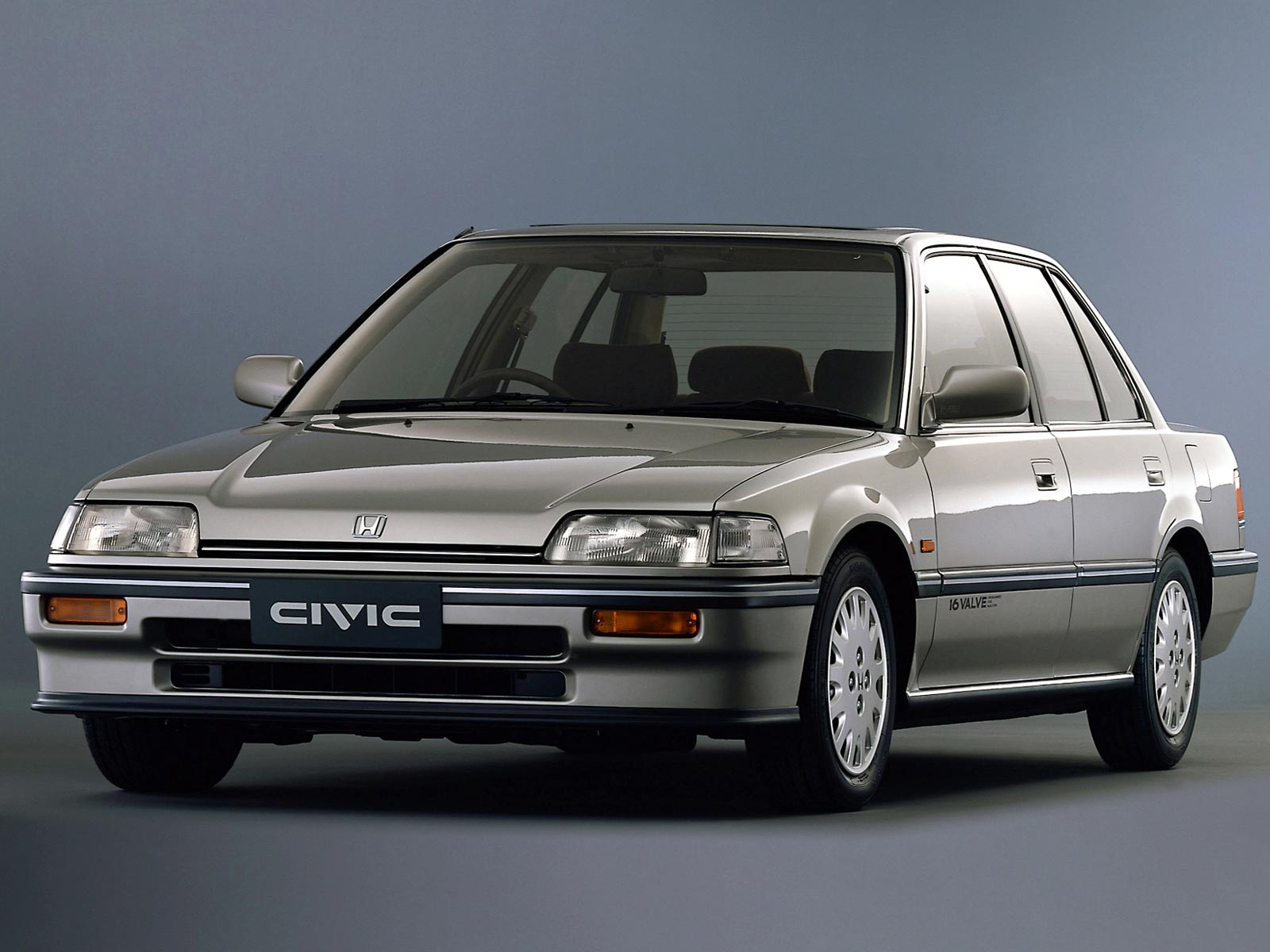 Honda Civic 1.6 1987 photo - 3