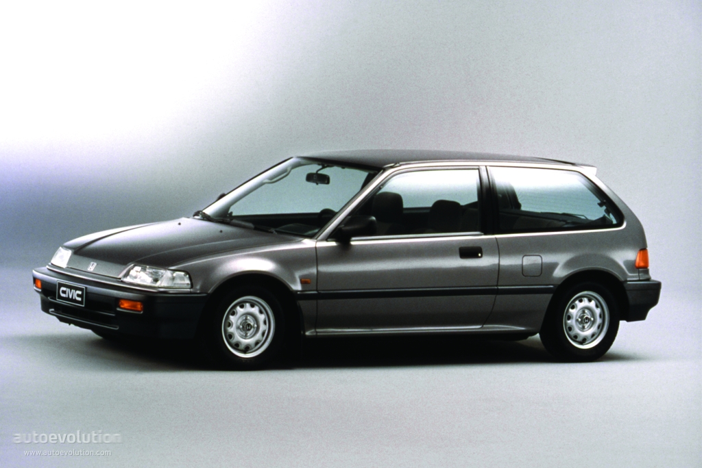 Honda Civic 1.6 1987 photo - 5