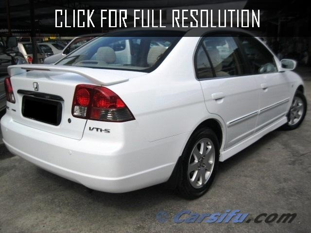 Honda Civic 1.7 2000 photo - 5
