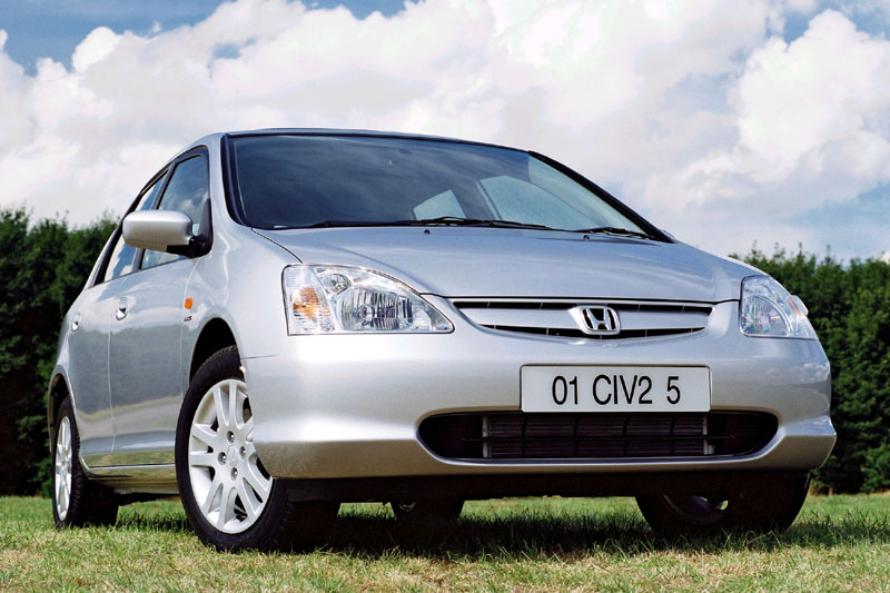 Honda Civic 1.7 2002 photo - 7